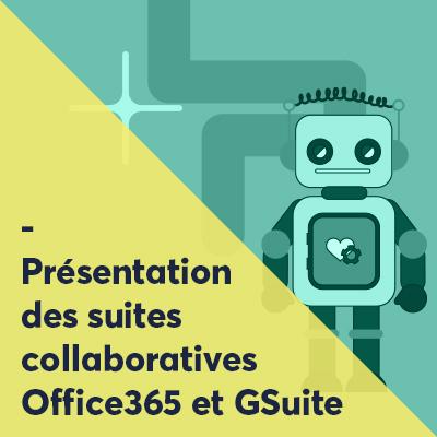 Formations à Office365 et Gsuite pour l'éducation